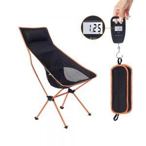 Ultralätt vikbar strandstol
